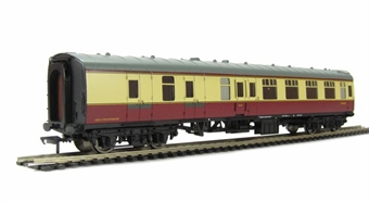 39-077E BR Mk1 BSK Brake 2nd Corridor in Crimson & Cream. £22