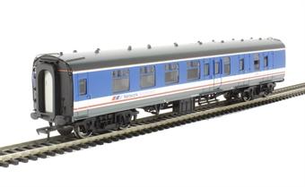 39-082B Mk1 BSK brake second corridor 35239 in Network SouthEast blue