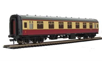 39-152D BR Mk1 FK First Corridor in Crimson & Cream.