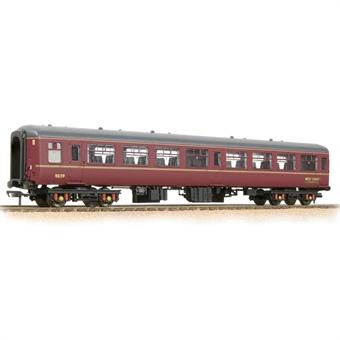 39-354 Mk2 TSO tourist second open 5239 in West Coast Railway Company maroon