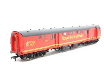 39-430-PO08 BR Mk1 POS Post Office Sorting Van in Royal Mail Letters Large Red. - Pre-owned - Like new