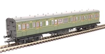 39-611 60' ex-SECR Birdcage composite 5453 in SR olive green £55.21