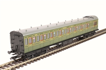 39-621 60' ex-SECR Birdcage brake third 3446 in SR olive green