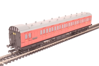 39-622 60' ex-SECR Birdcage brake third S3428S in BR crimson