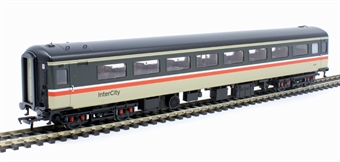"""39-677DC Mk2F """"Aircon"""" TSO tourist second open in Intercity livery - DCC fitted with interior lighting"""