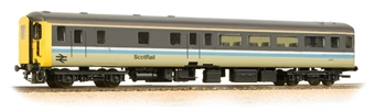 """39-726DC Mk2F """"Aircon"""" DBSO driving brake second open in BR Scotrail livery - DCC fitted with lighting"""
