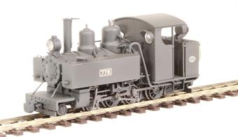 391-025 Baldwin Class 10-12-D 4-6-0T 778 in WW1 ROD black - weathered £131.71