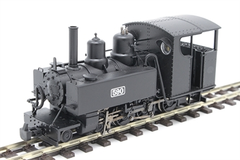 391-026 Baldwin Class 10-12-D 4-6-0T 590 in Welsh Highland Railway black £123.21