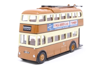 "40101Corgi-PO07 Weymann/Park Royal Trolley bus - ""Maidstone"" - Pre-owned - Like new"
