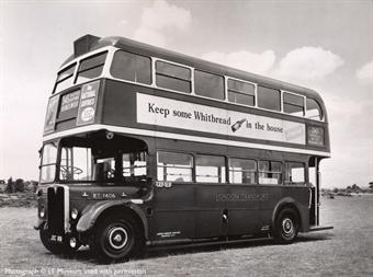 40304EFE Cravens RT in London Transport red