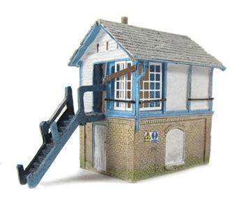 42-082 Derelict Signal Box £11