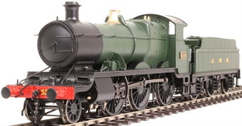 4302 Class 43xx Mogul 2-6-0 5320 in GWR green with GWR lettering