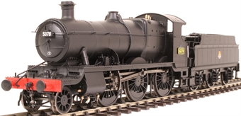 4310 Class 43xx Mogul 2-6-0 5378 in BR black with early emblem