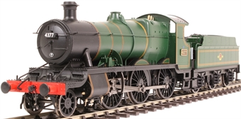 4322 Class 43xx 'Mogul' 2-6-0 4377 in BR lined green with late crest