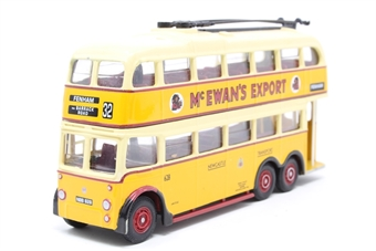 """43705-PO05 AEC Trolleybus """"Newcastle Corporation"""" - Pre-owned - Like new"""