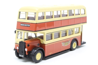"""43917-PO04 Utility Bus (Daimler) - """"Yelloway Motor Services"""" - Pre-owned -  worn paint on roof"""