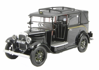 43AT001 Austin Low Loader Taxi in Black