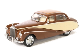 43EMP001 Rolls Royce Silver Cloud/Hooper Empress Brown/Cream