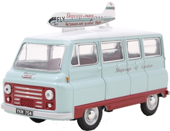 43JM024 Morris J2 Van Skyways