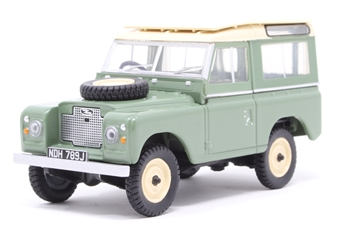 43LR2AS003 Land Rover Series IIA SWB Station Wagon Pastel Green