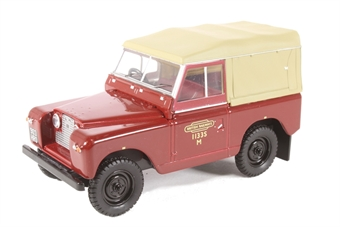43LR2S002 Land Rover Series II SWB Canvas British Rail