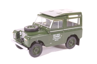 43LR2S003 Land Rover Series II SWB Hard Back Post Office Telephones