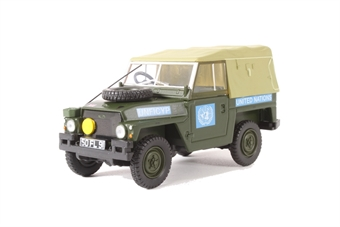 43LRL001 Land Rover 1/2 Ton Lightweight United Nations