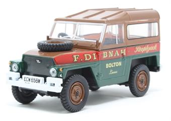 "43LRL006 Land Rover Lightweight Hard Top - ""Fred Dibnah"""