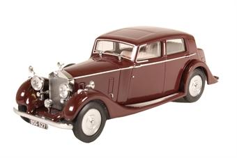 43R25001 Rolls Royce 25/30 - Thrupp & Maberly Burgundy