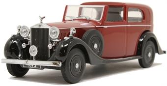 43RRP3003 Rolls Royce Phantom III SDV Mulliner Claret/Black £21
