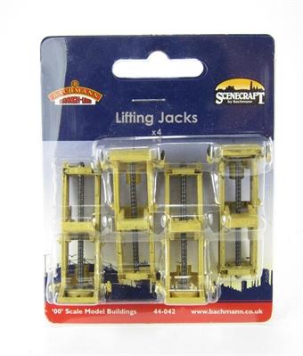 44-042 Lifting Jacks x 4 (16 x 23 50mm)