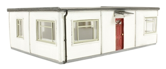 44-193 Prefabricated Modern House or Site office (124 x 81 x 35mm)