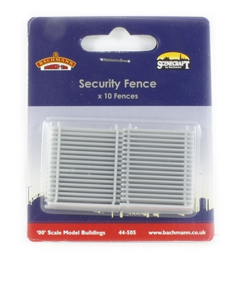 44-505 Security fences x 10 - Scenecraft range £6