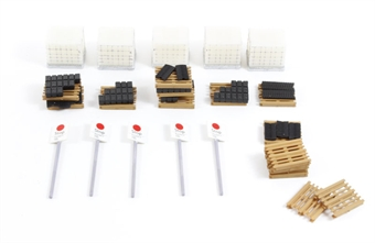 44-508 Motive Power Depot TMD shed accessories