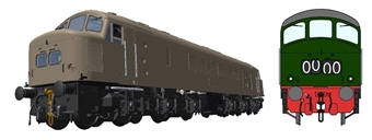 45107Customised Class 45/0 'Peak' in BR with no yellow panels and split centre headcode - numbered and named to your choice of loco