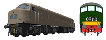 45108Customised Class 45/0 'Peak' in BR green with small yellow panels and split centre headcode - numbered and named to your choice of loco