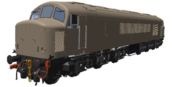 """45304 Class 45/0 'Peak' 45033 """"Sirius"""" in BR blue with sealed beam marker lights and Tinsley painted name - weathered"""