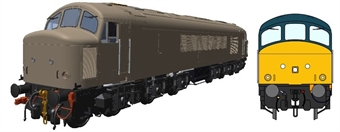 45504Hel Class 45/1 'Peak' in BR blue with sealed beam marker lights and hi-intensity headlight - unnumbered