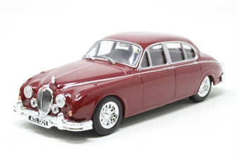 4641101-PO04 Jaguar Mk2 in Red - Pre-owned - Missing wing mirrors