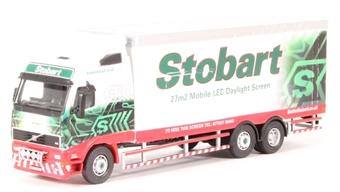 "4649105 Volvo FH12 Mobile with LED screen - ""Eddie Stobart"""