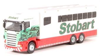 "4649108 Scania High line horsebox - ""Eddie Stobart - Polo team"""