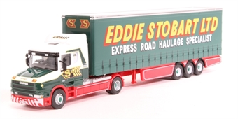 "4649110 Scania T Cab with Curtainside trailer ""Eddie Stobart Ltd"" - ""Kerry Jane"""