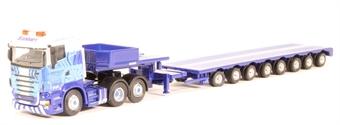 """4664102 Scania R560 Lowloader -"""" Eddie Stobart"""" £7"""
