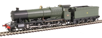 "4780 Class 47xx 2-8-0 ""Night Owl"" 4704 in GWR green with shirtbutton emblem"
