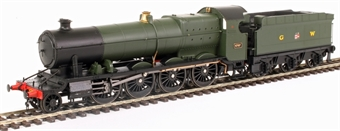 4782 Class 47xx 2-8-0 'Night Owl' 4707 in GWR green with post-war GW lettering