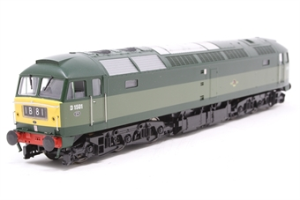 4790-PO03 Class 47 diesel D1501 in BR 2 tone green with small yellow panel (as preserved at East Lancashire Railway)  - Pre-owned - DCC Sound-fitted, sound is poor quality, only runs in one direction