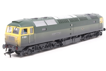 4794-PO02 Class 47 diesel D1661 'North Star' in BR Green livery with full yellow ends (weathered).  - Pre-owned - DCC Sound-fitted, detailed with crew, slightly noisy runner