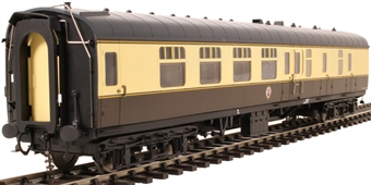 4923 Mk1 BSK brake second corridor in BR chocolate and cream - unnumbered