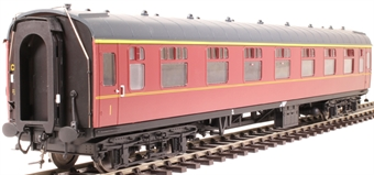 4931 Mk1 FK first corridor in BR maroon - unnumbered
