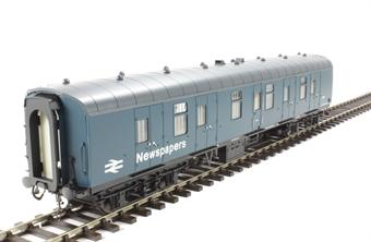 4955 Mk1 BG full brake in BR blue with Newspapers branding